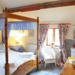 The double bedroom in Apple Bough Cottage, Herefordshire Holidays