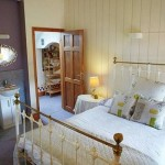 Double bedroom in Chess Cottage Herefordshire Holidays