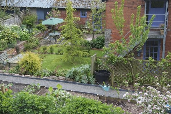 Enjoy use of your own private garden at Herefordshire Holidays