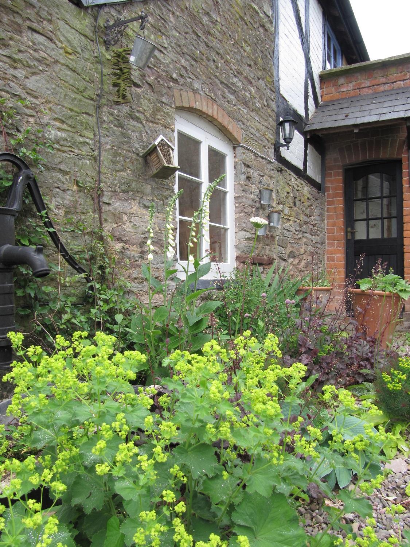 Entrance to Apple Bough Cottage