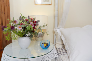 Flowers and little extras make Herefordshireholidays extra special