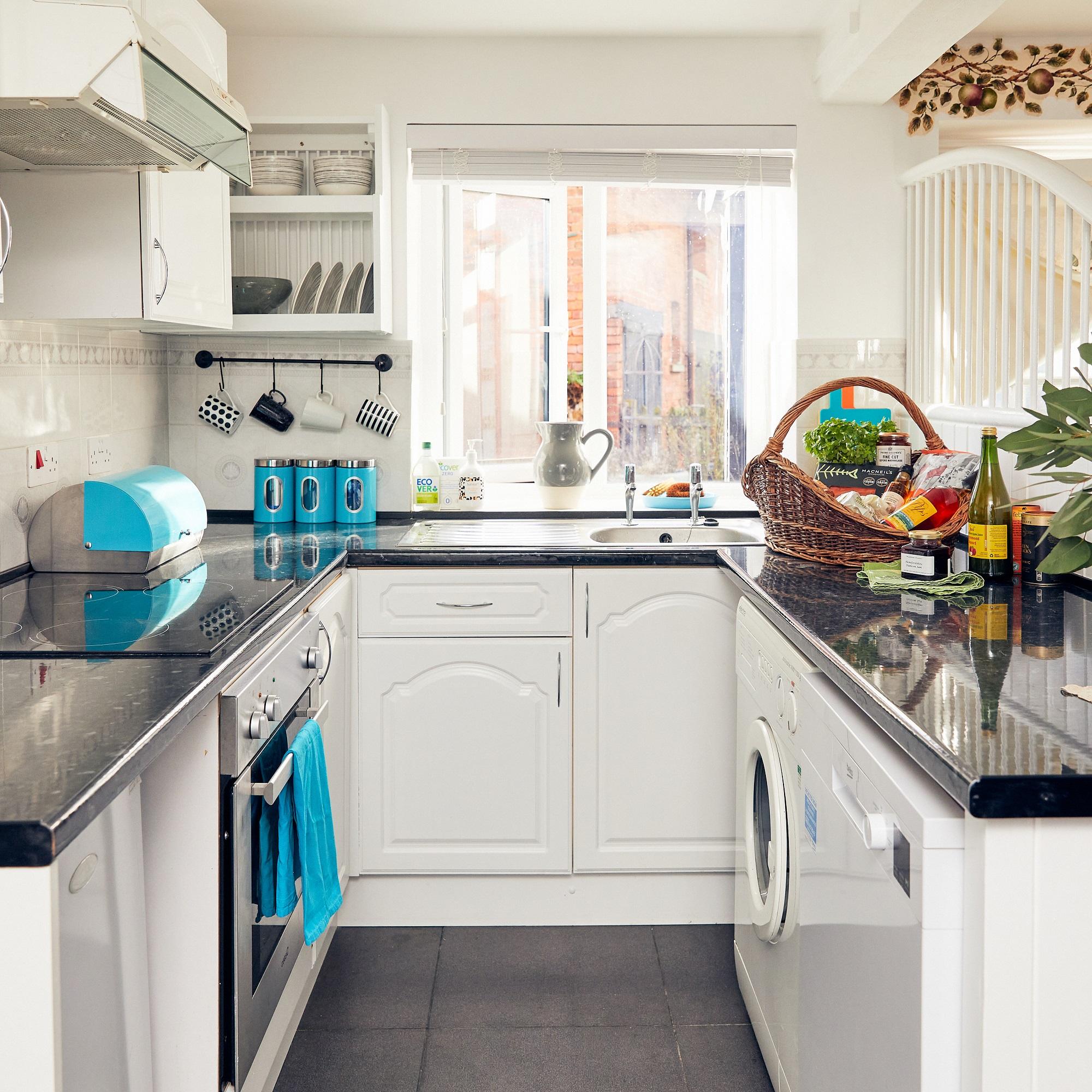 Kitchen at Apple Bough Cottage, Upper Newton Farm, Herefordshire Holidays